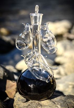 Picture of Decanter set with 4 port sippers